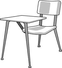 school chair clipart black and white. Plain White Furniture School Desk Clip Art 7yq717 Clipart Picture Royalty Free Library For Chair Black And White O