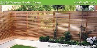 new garden fences repair london