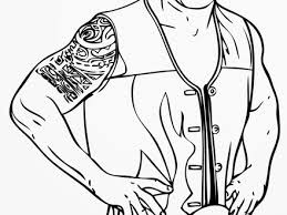 48 Coloring Pages Of Wwe Wwe Coloring Pages Dr Odd Radiokothacom