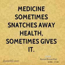 Medical Quotes Mesmerizing Ovid Medical Quotes QuoteHD