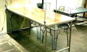 Table De Cuisine Amovible Cuisine Table Haute Impressionnant Bar