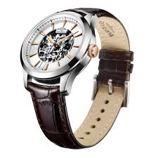 rotary mens chrome automatic skeleton watch watches from edmonds uk rotary mens chrome automatic skeleton watch
