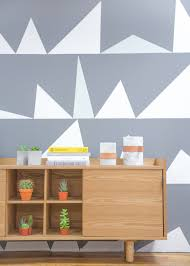 interior paintingGraphic Wall Paint The Newest Trend in Interior Painting Ideas