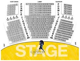 Seating Chart First Ontario Centre Seating Map Cameco Capitol Arts Centre
