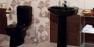 black bathroom sinks black bathroom fixtures toilet and sink