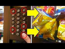 How To Get Into Any Vending Machine Fascinating GET FREE SNACKS FROM ANY VENDING MACHINE Life Hacks HD YouTube