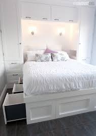 storage beds for small bedrooms. Beautiful Storage Builtin Platform Storage Bed And Beds For Small Bedrooms U