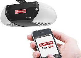 open garage door with phoneOpen Your Garage Door With Your Cell Phone With the Craftsman