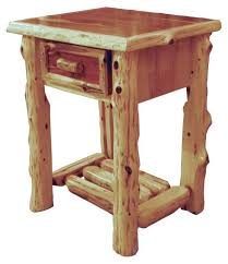 rustic furniture plans. red cedar lodge one drawer furniturefurniture plansrustic rustic furniture plans