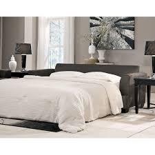 Levon Charcoal Queen Sofa Sleeper Signature Design by Ashley