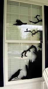 love halloween window decor: halloween window templates halloween windows halloween window decorations halloween coffin decoration halloween window display halloween trees
