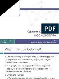 Given a graph $g$ it is easy to find a proper coloring: Graph Coloring Algorithm Algorithms Areas Of Computer Science
