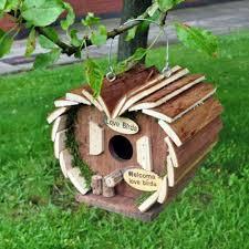 wooden garden bee insect bird squirrel hotel house