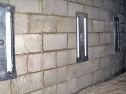 cinder block wall repair. Plain Cinder Cinder Block Foundation Repair Intended Wall T