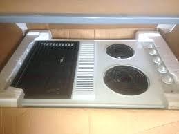downdraft electric cooktop stove top bid oven air ran reviews kitchenaid 36