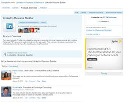 linkedin create resumes