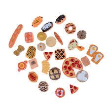 realistic shape <b>Mini</b> Home <b>Craft 10pcs Miniature Food</b> Ornament ...