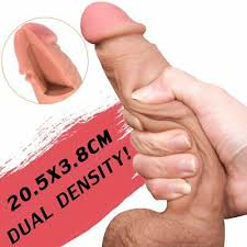 Realistic <b>Huge Dildo Suction</b> Cup Anal Vagina Sex Toy for Women ...
