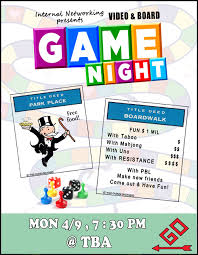 Family Game Night Flyer Template Family Movie Night Flyer Template ...