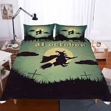 details about 3d witch bedding set duvet cover set comforter quilt cover pillowcases