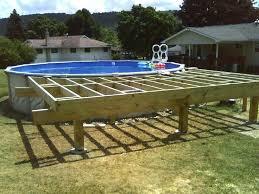pool decks above ground above ground pool deck kit pool deck plans ft above ground pool