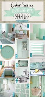 Color Series; Decorating with Seaglass