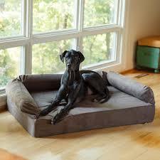 snoozer pet products dog beds sofas luxury dog sofa w memory foam