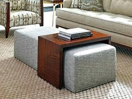 coffee table ottomans image of coffee table ottoman furniture round seagrass