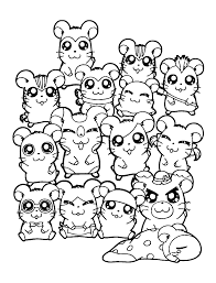 Click on the disney movies and characters you'd love to color from in the below galleries and print them to create your own disney coloring book. Cute Hamster Coloring Pages Coloring Home