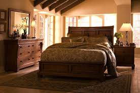 Solid Mahogany Bedroom Furniture Tuscano Solid Wood Low Profile Bedroom Set
