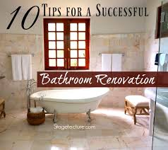 40 Tips For A Successful Bathroom Renovation Enchanting Bathroom Remodel Tips