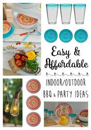 Easy & Affordable Indoor/Outdoor BBQ & Party Ideas: Visit  foxhollowcottage.com for