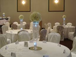 elegant decorations wedding table lights. Elegant Wedding Flower Centerpieces With Crystal Vase Matched Round Stainless Pattern On White Decorations Table Lights R