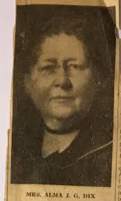 ALMA J DIX (GAGER) (1861 - 1942) - Genealogy