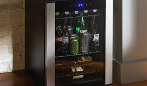 best mini beer fridge with glass door