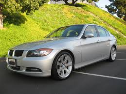 BMW Convertible 2007 335i bmw : 2007 BMW 335i Sedan Silver on Black with Sport Package and Premium ...