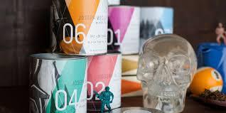 Joseph Wesley Black Tea | Dieline - Design, Branding & Packaging Inspiration