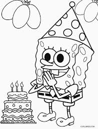 Small Picture Printable Spongebob Coloring Pages For Kids Cool2bKids