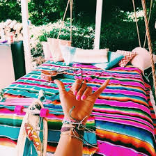 home accessory bedding bedroom boho bedding bedroom islandlife tropical hippie boho bohemian surf