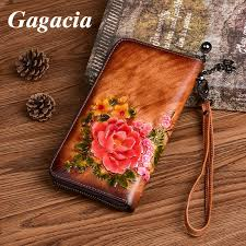 <b>GAGACIA</b> Chinese Style Long Zipper Wallet Retro Women Purse ...