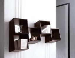 geometric bookcases modern geometric square wall mounted shelves for books design interesting wall shelves for