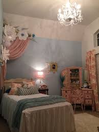 pink and blue furniture. paper flowers princess room pink and blue ideas 6 year old girl furniture