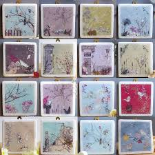Decorative Tiles For Wall Art Birds At Feeder Decorative Marble Tile Marble tiles Walls and Marbles 2