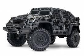 <b>Радиоуправляемая машина TRAXXAS TRX-4</b> Tactical Unit 1/10 4WD