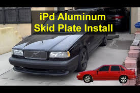 Belly oil pan protector from iPd, P80 Volvo's, 850, S70, V70, etc ...