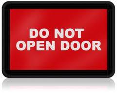 do not open door light judd pro