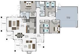 charming design 4 bedroom house floor plans nz 12 large nz on home