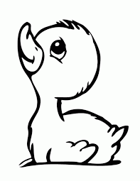 Small Picture Baby Duckling Coloring Page H amp M Coloring Pages Baby Duck
