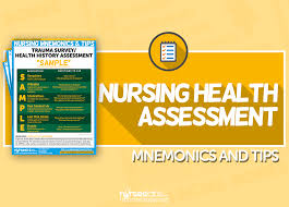 Nursing Health Assessment Mnemonics Tips Nurseslabs