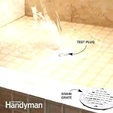 shower drain leak shower leaking through ceiling name views size into shower drain leak fix shower drain